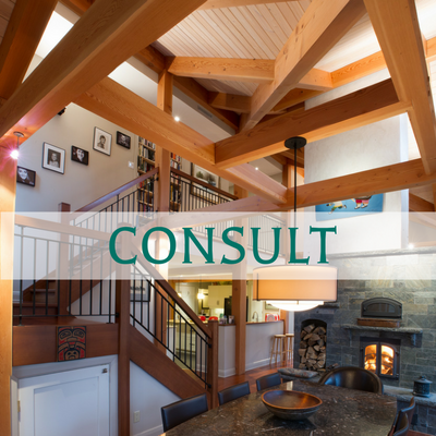Ottawa Valley Custom Timber Frame Home Builder - Consult