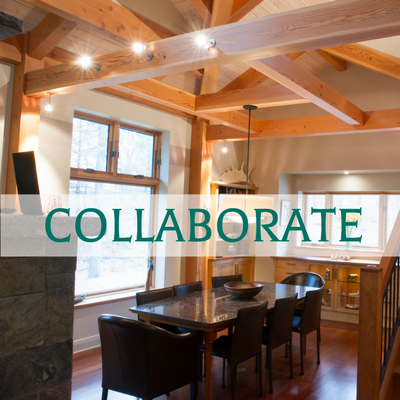 Ottawa Valley Custom Timber Frame Home Builder - Collaborate
