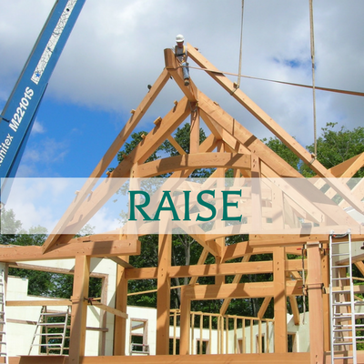 Ottawa Valley Custom Timber Frame Home Builder - Raise